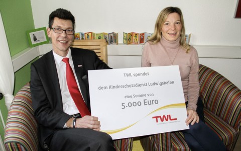5.000 Euro für den Kinderschutzdienst Ludwigshafen