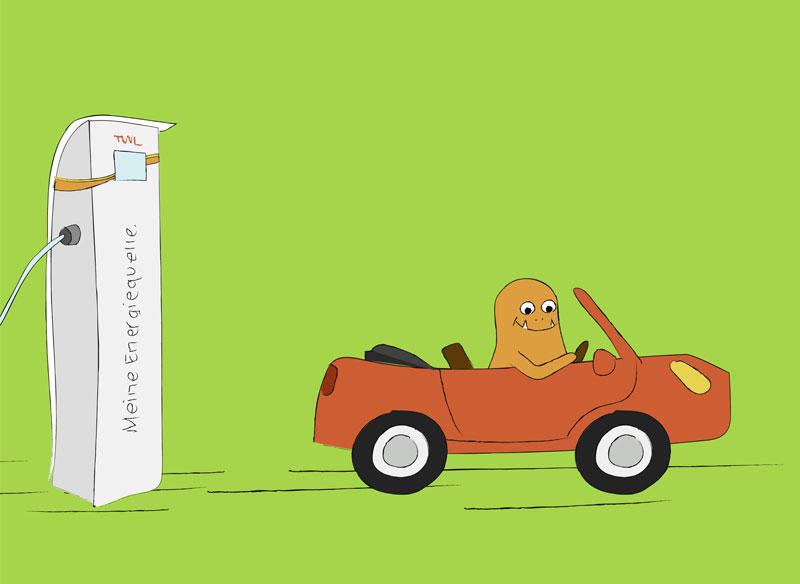 Wie funktioniert ein Elektroauto - TWL Kurier