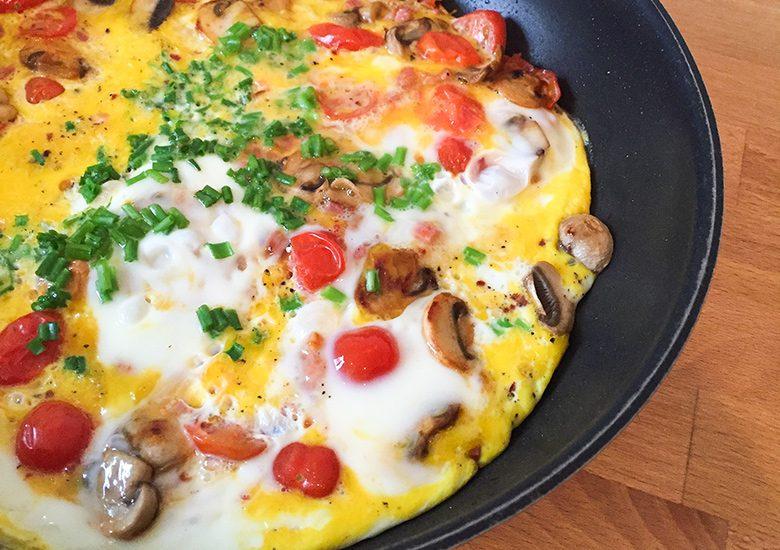 Daniela Katzenbergers Küche: Schlank mit Omelett