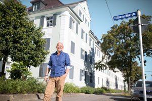 Die Hohenzollern-Höfe verbinden modernen Wohnkomfort mit Altbauflair. (Bild: Alexander Grüber)