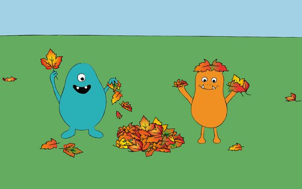 Warum ist Herbstlaub bunt?