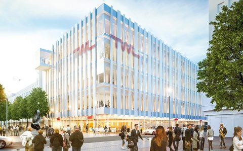 Neues TWL-Gebäude in der Innenstadt