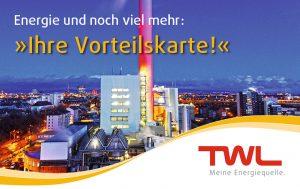 Bei mehr als 40 Unternehmen sparen TWL-Kunden mit der Vorteilskarte bares Geld.