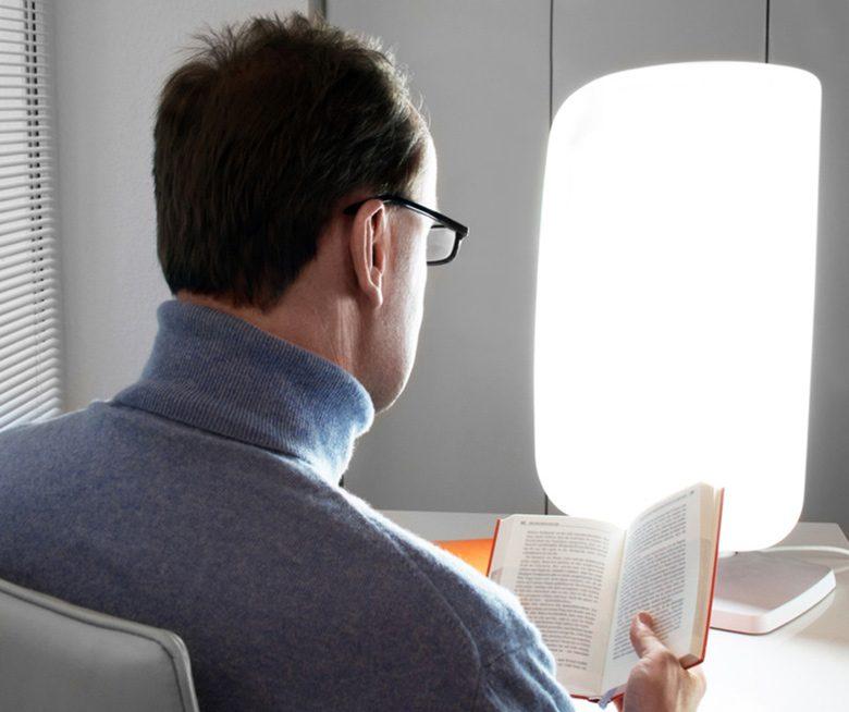 Lichttherapie gegen trübe Gedanken