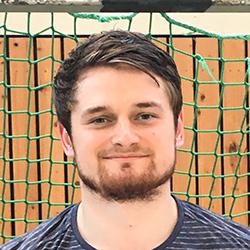 Der Handballer David Schmidt von der TSG Ludwigshafen-Friesenheim.