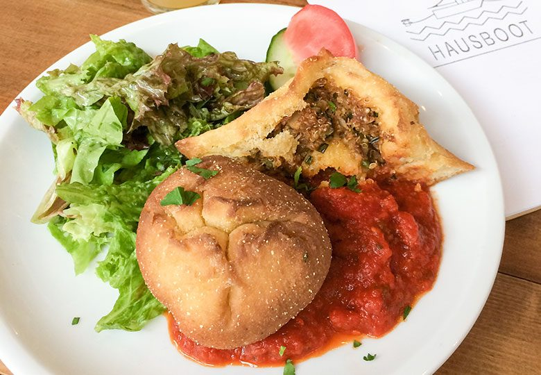 Vegane Maisbällchen: Der Renner im Szenerestaurant Hausboot