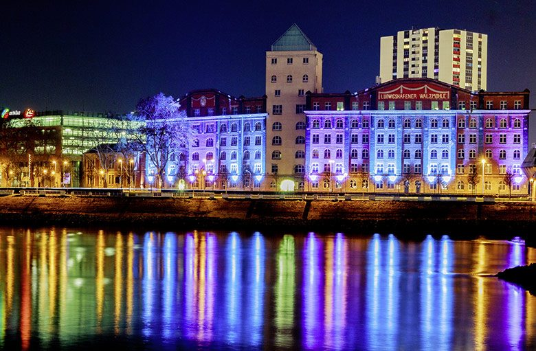 Der TWL-Lichterzauber erobert das Rheinufer