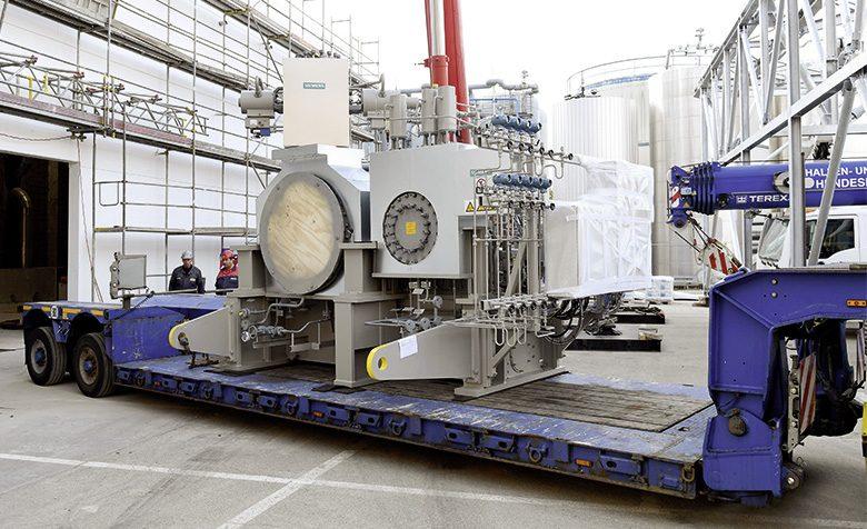 Turbinenanlage macht Wärme zu Strom