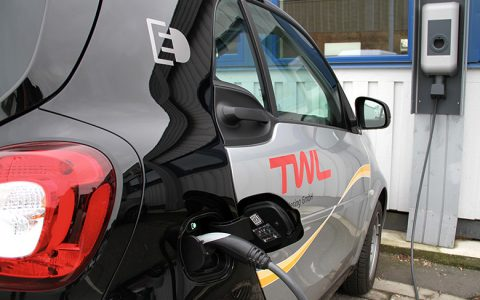 Die Ableser von TWL fahren E-Autos