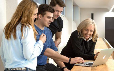 Die ersten Start-ups arbeiten im Gründerzentrum Freischwimmer