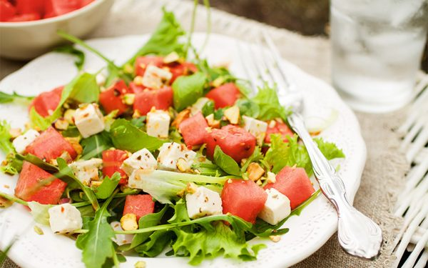 Fruchtiger Salat für heiße Tage: Rezeptidee von Michael Cordier