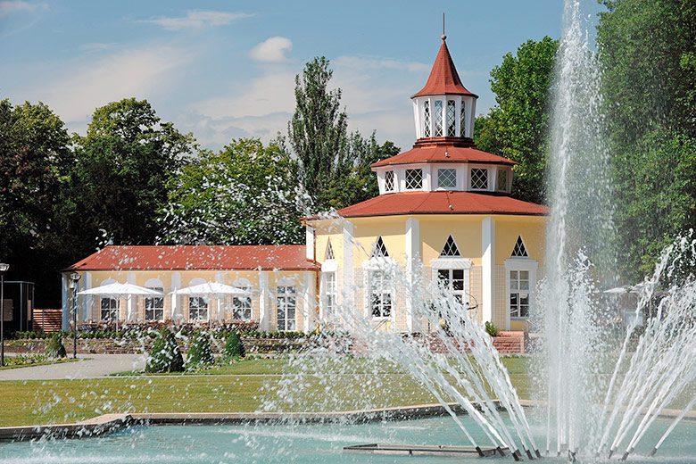 Sternbrunnen im Ebertpark lädt zur Auszeit vom Alltag