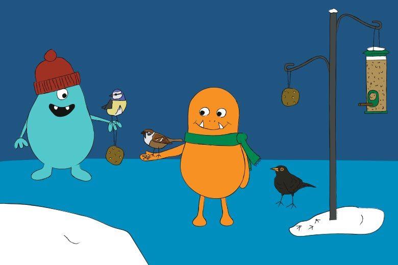 Wintervögel füttern – so geht's!