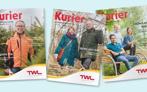"Leserbefragung zum Magazin ""Kurier"""