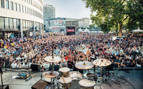 Party und Sport beim Stadtfest Ludwigshafen
