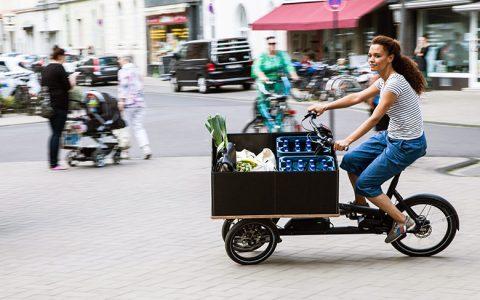 Lastenräder testen an der Rhein-Galerie