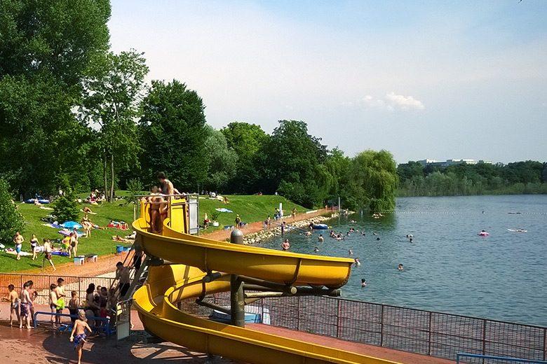 Wasserfans ziehts ins Bliesbad Ludwigshafen