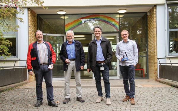 LoRaWAN: TWL testet Funknetz in der Goetheschule