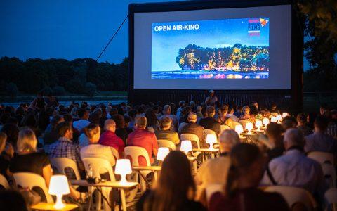 Ein wenig Festivalstimmung beim Open-Air-Kino