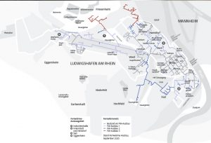 TWL hat das Versorgungsgebiet für Fernwärme in Ludwigshafen kontinuierlich ausgebaut.
