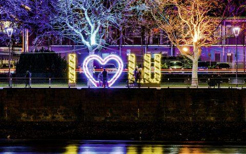 TWL Lichterzauber: Ludwigshafen leuchtet wieder