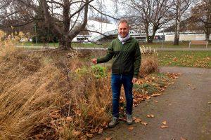 Harald Sauer arbeitet seit über 25 Jahren im Ebertpark.