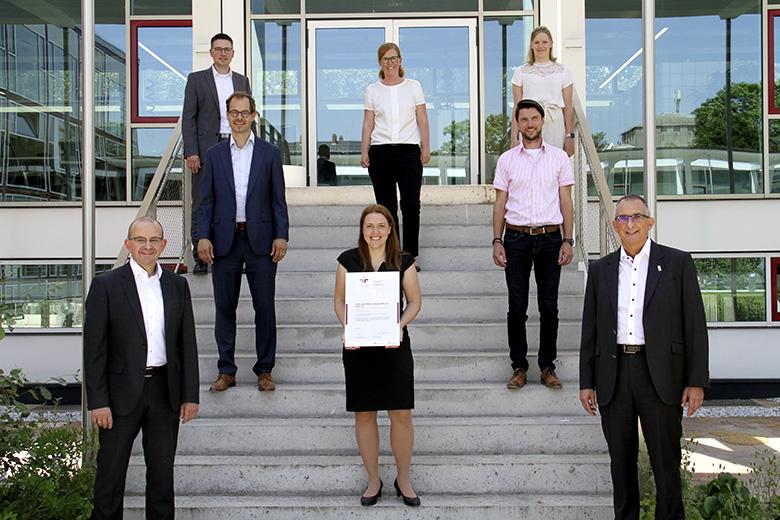 Vereinbarkeit von Beruf und Familie: TWL erhält erneut Auszeichnung